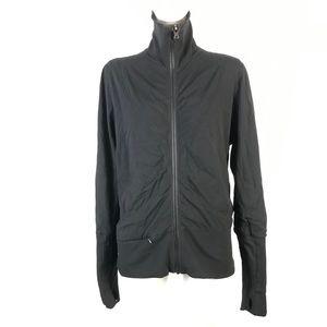 Lululemon mesh ruched jacket